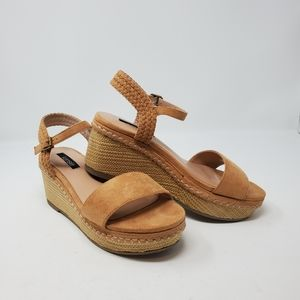 Kensie Timothy Wedge Sandals